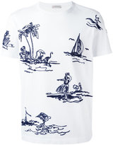 Moncler stitched motif T-shirt - men - Cotton - XL