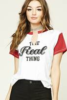 Forever 21 FOREVER 21+ The Real Thing Graphic Tee