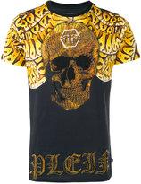 Philipp Plein So Snake T-shirt - men - Cotton/Crystal - S