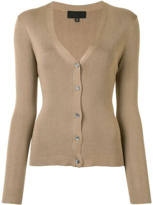 Nili Lotan V-neck fine knit camisole