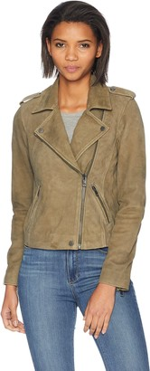 Lucky Brand Women's Helen Leather Moto Jacket