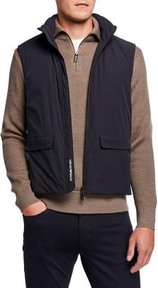 Emporio Armani Men's Stretch-Nylon Travel Capsule Vest