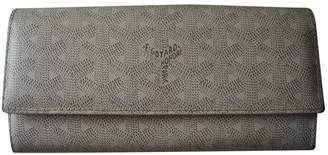 Goyard Richelieu White Cloth Wallets