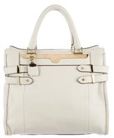 Chloé Grained Leather Shopping Tote