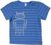 Nano Striped Tee (Baby) - Blue-3 Months