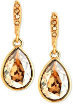 Givenchy Earrings, Gold-Tone Golden Shadow Swarovski Element Drop Earrings