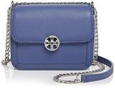 Tory Burch Duet Chain Metallic Micro Shoulder Bag