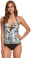 Kenneth Cole Palm Reading Push Up Tankini Top 8158463