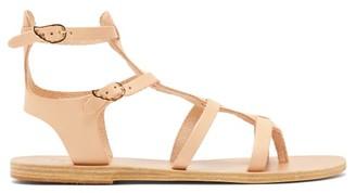 Ancient Greek Sandals Stephanie Leather Gladiator Sandals - Tan