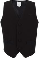 Diesel Branded Black Waistcoat