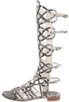 Stuart Weitzman Aphrodite Cage Sandals