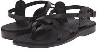 Jerusalem Sandals Tamar Buckle - Womens (Brown) Women's Shoes