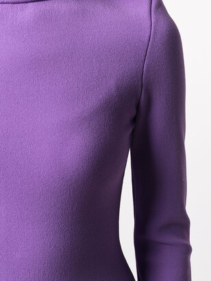 Kwaidan Editions Mock Neck Shift Dress