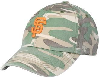 Women's '47 Camo San Francisco Giants Rogue Camo Adjustable Hat