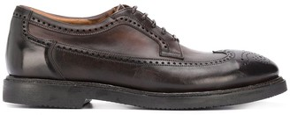 Silvano Sassetti Burnished Oxford Shoes