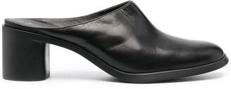 Camper Meda block-heel leather mules
