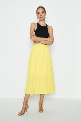 Coast Pleated Maxi Skirt