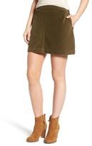 BP Women's Corduroy A-Line Miniskirt