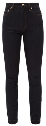 Dolce & Gabbana Audrey High-rise Stretch Skinny Jeans - Denim