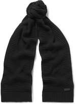 Belstaff - Kameron Wool And Cashmere-blend Scarf