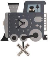 Modern Moose Train Pendulum Wall Clock