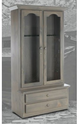 """Chelsea Home Canton 39"""" Wide 2 Drawer Pine Wood Server"""