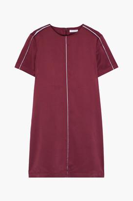 Equipment Noemy Washed Silk-blend Mini Dress