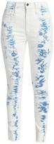Joe's Jeans Bella High Rise Skinny Ankle Tie-Dye Jeans