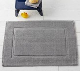 Pottery Barn Kids Solid Core Bath Mat, 20 x 32, Dark Gray