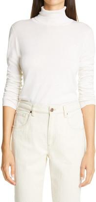Brunello Cucinelli Cashmere & Silk Turtleneck Sweater