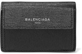 Balenciaga Textured-leather Wallet - Black