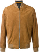Paul Smith bomber jacket - men - Suede - L
