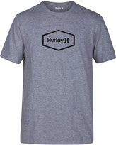 Hurley Men's Hexagon Heathered T-Shirt