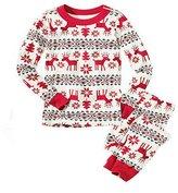 The Bazaar R XAS Adults Faily Pajaa Set Christas Snowflake Deer Design Party Sleepwear Gift (,ens)