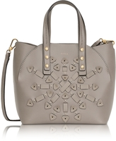 Furla Sabbia Leather Aurora Small Tote Bag