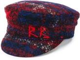 Ruslan Baginskiy logo embroidered flat cap