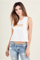 True Religion True Rlgn Womens Muscle Tank