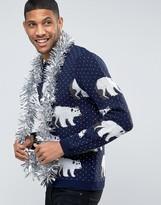 Asos Holidays Sweater with Polar Bears