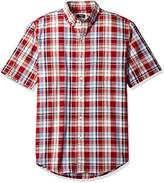 Arrow Men's Short Sleeve Madras Shirt