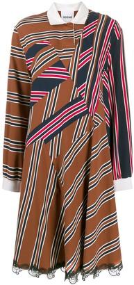 Koché oversized polo dress