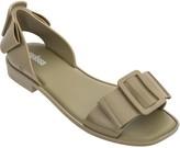 Melissa Open-Toe Flat Sandals - Aurora
