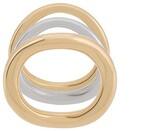 Charlotte Chesnais Wave set of three rings