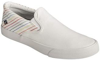 Sperry Striper II Slip-On Pride (White) Men's Shoes