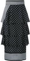 Stella McCartney India skirt - women - Silk - 40