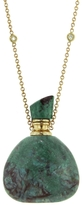 Jacquie Aiche Medium Chrysacolla Triangle Potion Bottle Necklace
