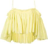 Apiece Apart off shoulder blouse - women - Cotton - 0