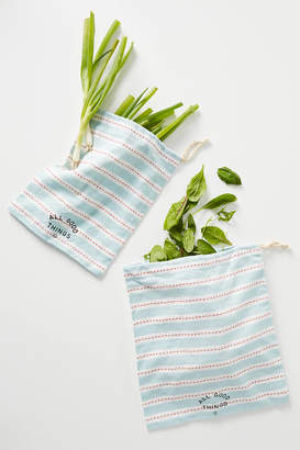 Anthropologie Reusable Produce Bags, Set of 2