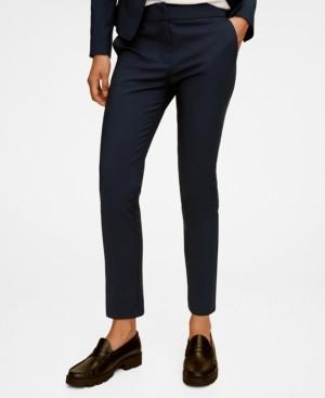 MANGO Women's Suit Slim-Fit Pants