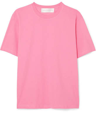 Victoria Victoria Beckham Victoria, Victoria Beckham - The Victoria Cotton-jersey T-shirt - Pink