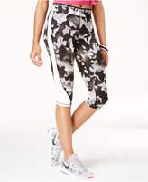 Material Girl Active Juniors' Printed Capri Leggings, Created for Macy's